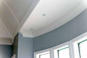 Curved Flexible Crown Moulding