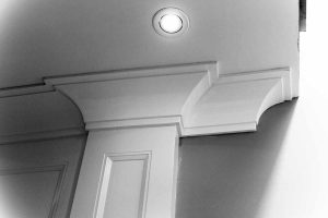 Two Step Crown Molding Return